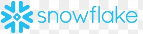 Snow Icon - Snowflake Computing Technology Cloud Computing Data Warehouse PNG
