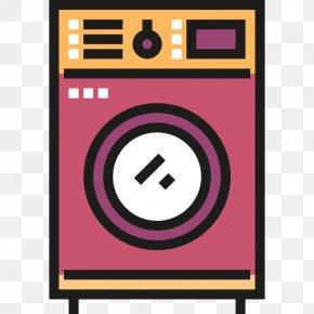 Washing Machine - Washing Machine Laundry Room Furniture PNG