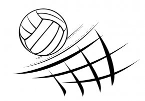 Volleyball - Beach Volleyball Volleyball Net Clip Art PNG