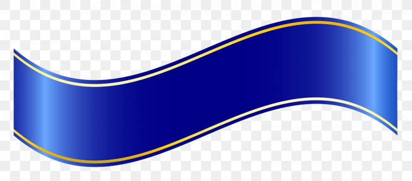Blue Ribbon Banner Clip Art, PNG, 1600x704px, Ribbon, Area, Art, Banner, Blue Download Free