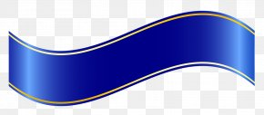 Web Banner - Blue Ribbon Banner Clip Art PNG