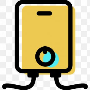Home - Water Heating Home Icon Design Storage Water Heater PNG