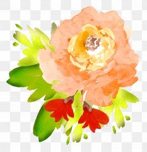 Watercolour - Flower Floral Design Watercolor Painting Clip Art PNG