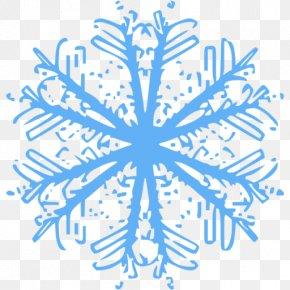 Snow - Snowflake Winter Snowman PNG