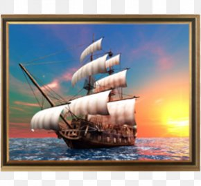 Sail - Sailing Ship Sailboat PNG