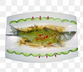 Shoot Ginger Steamed Sea Bass - Dish Steaming Food Ginger PNG
