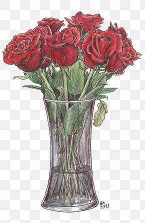 Hand-painted Roses - Drawing Watercolor Painting Art Sketch PNG