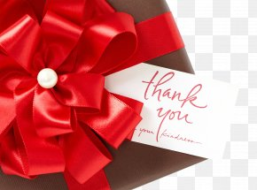 Red Ribbon Gift - Gift Card Red Ribbon PNG