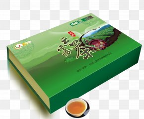 Tea Tea Packing Box - Tea Box Tieguanyin Paper U5e90u5c71u4e91u96feu8336 PNG
