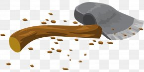 Broken Ax - Axe Hatchet Clip Art PNG