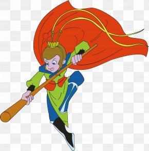 Cartoon Sun Wukong - Sun Wukong Arena Of Valor Cartoon PNG