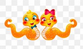 Creative Cartoon Snake - Bugs Bunny Cartoon Chinese Zodiac PNG