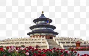 Temple Of Heaven - Summer Palace Temple Of Heaven Forbidden City Great Wall Of China Zhengyangmen PNG
