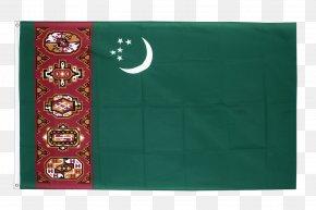 Flag - Flag Of Turkmenistan Turkmen Soviet Socialist Republic Fahne PNG