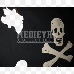 Flag - Jolly Roger Flag Buccaneer Cutlass Piracy PNG