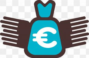 Blue Money Bag - Money Bag Finance PNG
