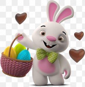 Easter - Easter Bunny Easter Egg Rabbit Egg Hunt PNG