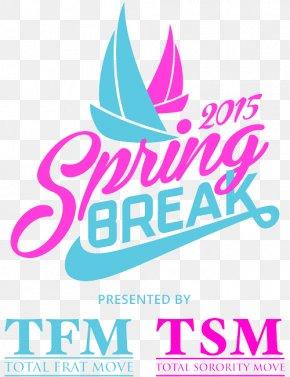 Spring Break - Logo Font Brand Clip Art Product PNG