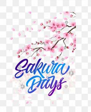 Romantic Cherry Blossom Festival Posters - National Cherry Blossom Festival Graphic Design PNG