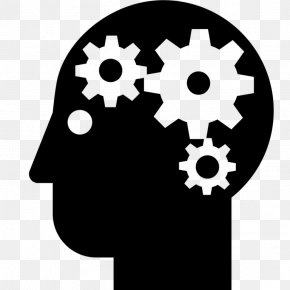 Symbol Gear - Cartoon Brain PNG