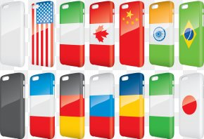 Vector Flag Phone Case - Smartphone Mobile Phone PNG