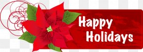 Happy Holidays Cliparts - Holiday Free Content Christmas Clip Art PNG