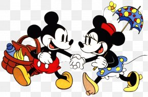 Minnie Mouse - Minnie Mouse Mickey Mouse Clarabelle Cow Pluto Drawing PNG