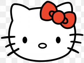 Kitty Hawk Cliparts - Hello Kitty Kitten Face Clip Art PNG