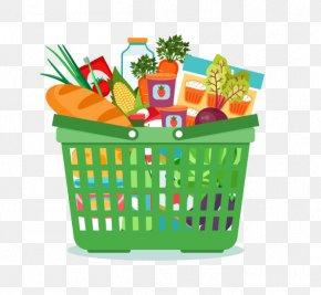 Shopping Cart - Shopping Cart Basket Clip Art PNG