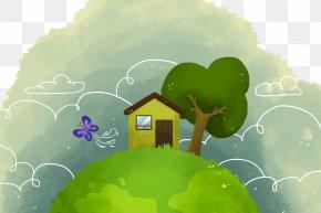 Vector Global Village - Euclidean Vector Resource Natural Environment Download Ecology PNG