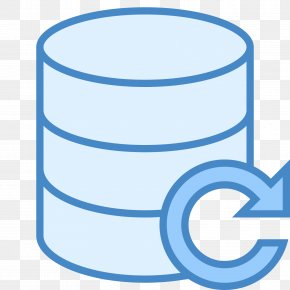 Data Recovery Icon - Remote Backup Service Database Computer Servers PNG