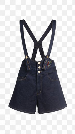 Strap Jeans - Jeans Overall Shorts Denim PNG