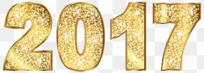 Number Gold Clip Art - Gold Clip Art PNG