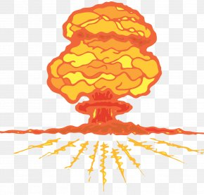 Atomic Bomb Big Bang - Mushroom Cloud Nuclear Explosion Nuclear Weapon PNG