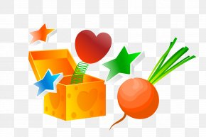Vector Magic Box - Valentine's Day Gift Heart Clip Art PNG