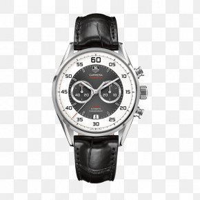 TAG,Heuer Men's Mechanical Watches Black - Automatic Watch Flyback Chronograph TAG Heuer PNG