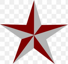 Red Star - Blue Star Clip Art PNG