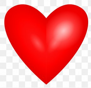 Love Heart - Valentine's Day Heart Love Red Clip Art PNG