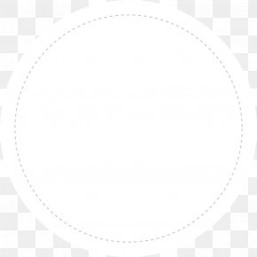 Cute Dotted Line Border - Circle Angle White PNG