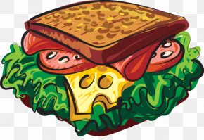 Blt Cliparts - Hot Dog Submarine Sandwich Cheese Sandwich Clip Art PNG