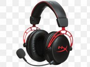 Microphone - Kingston HyperX Cloud Alpha Headset Microphone Headphones PNG