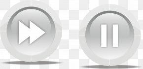 Pause Button - Push-button PNG