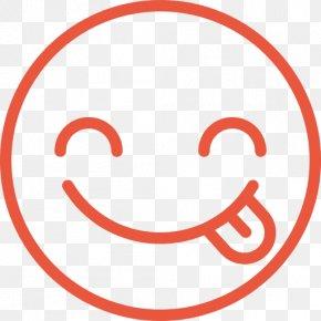 Tasty - Emoticon Smiley Tongue Wink PNG