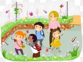Woodland Nursery - Field Trip School Stock Photography Education Clip Art PNG