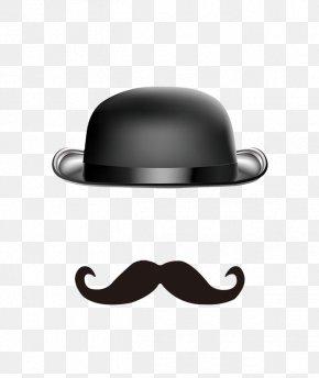 Creative Cartoon Hat Beard - Beard Hat Moustache PNG