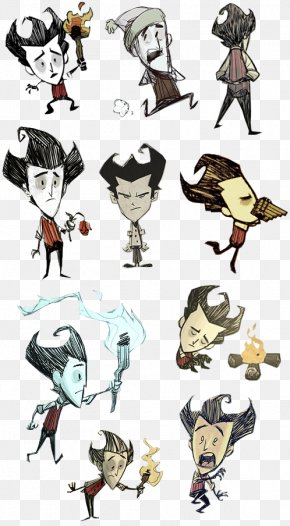 Don't Starve - Don't Starve Together Video Game Concept Art PNG