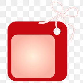 Tags - Label Red Clip Art PNG