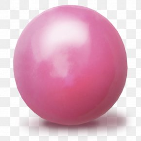 Ball - Sphere Pink M Ball PNG