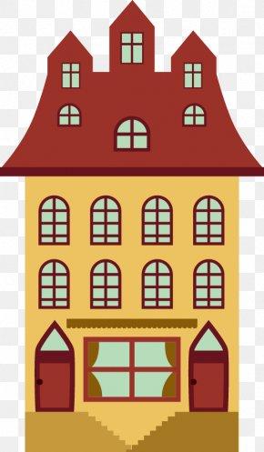 Vector Apartment Building Design - Apartment Cartoon PNG