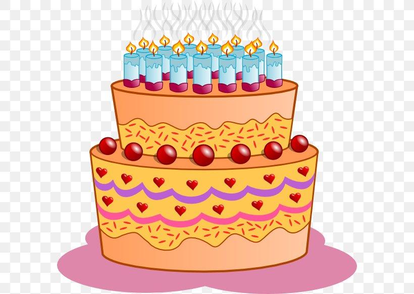 Peachy Birthday Cake Cupcake Clip Art Png 594X582Px Birthday Cake Birthday Cards Printable Inklcafe Filternl
